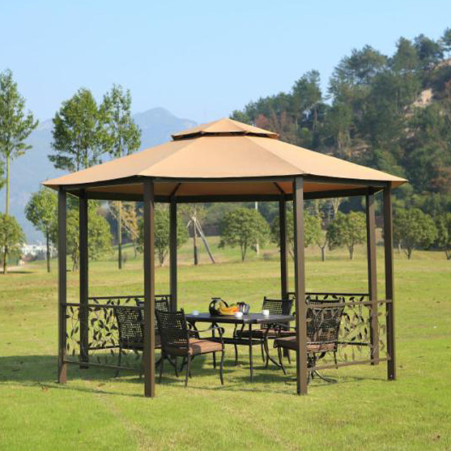 dia 4 meter 8-edge shape garden patio gazebo