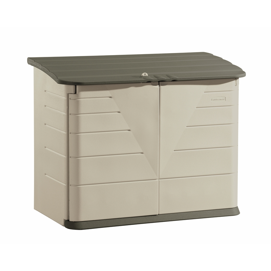 display product reviews for olive/sandstone resin outdoor storage shed  (common: 60- XSOLRCJ