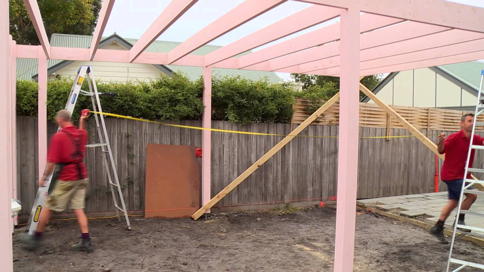 diy carport how to install bracing for a carport - diy at bunnings - KPLNNNG