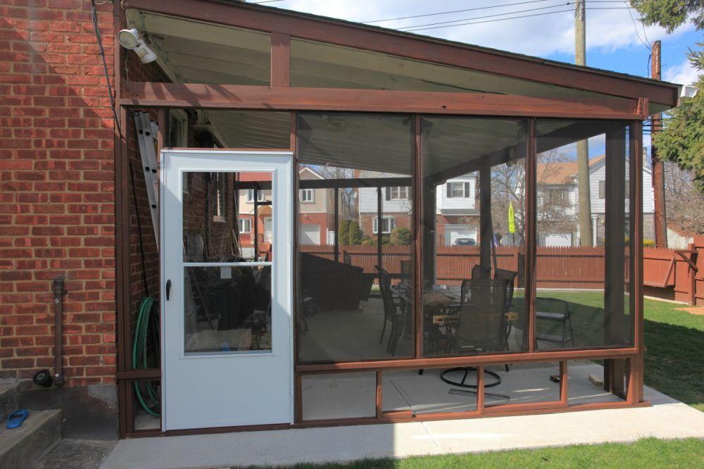 diy enclosed patio LFWFIJK