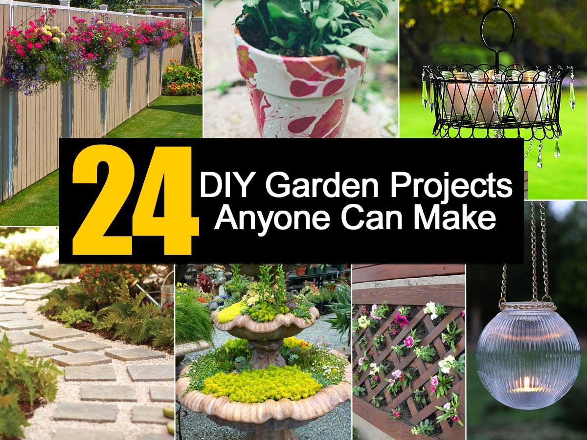 diy garden ideas 24 diy garden projects anyone can make SDCUKJM