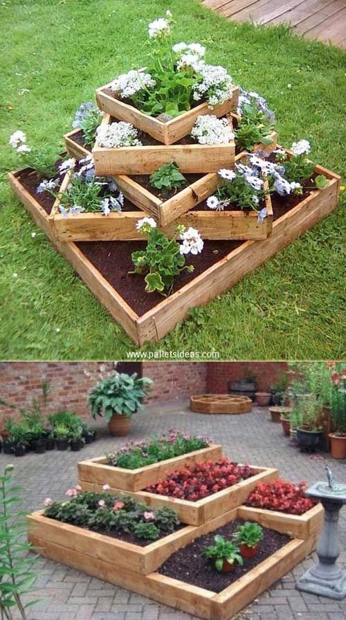 diy garden ideas for those of people who love enjoying the warm spring weather in EFVHNGA