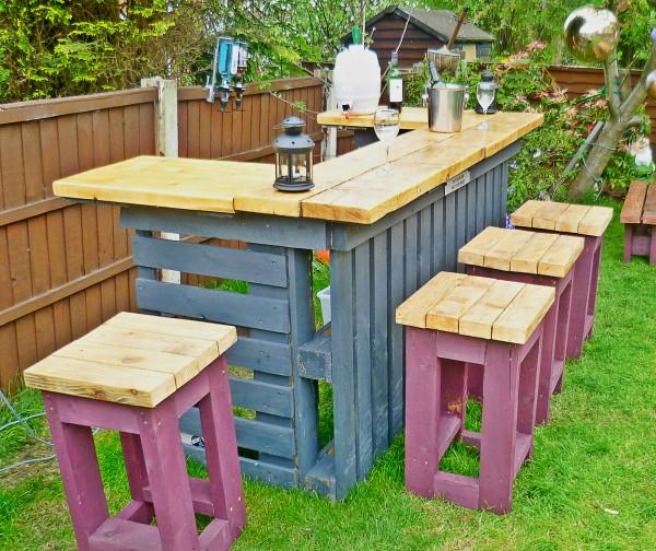 diy outdoor furniture garden bar. YHIDCRB