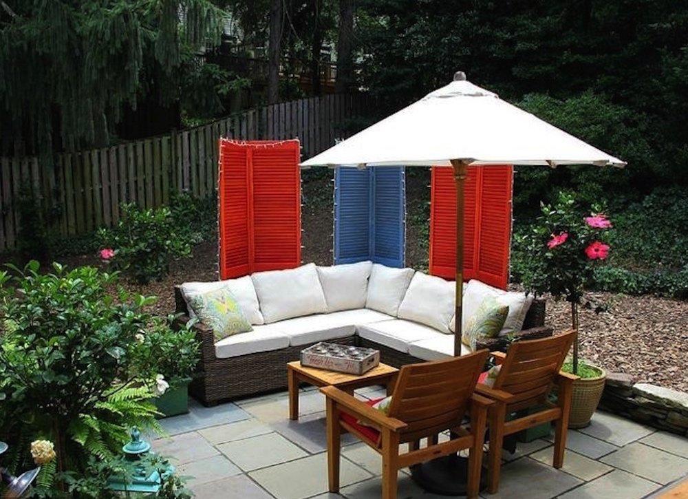 diy patio small patio decor QRGRHKB