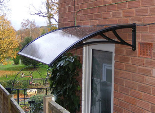 door awning polycarbonate door awnings OUDMHWE