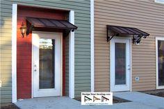 door awning small metal awning over door | the classic metal door awnings over CGBZPVP
