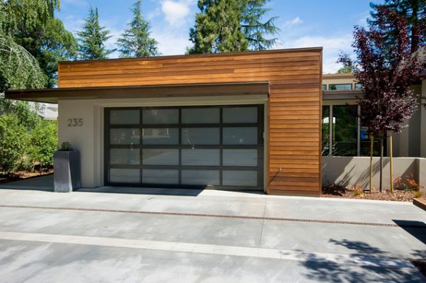 double garage design ideas TWFXRVB