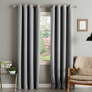 drapes and curtains aurora home thermal insulated blackout