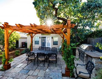 dream backyard, san luis obispo backyard landscaping greener environments  los osos, HRXUBOZ