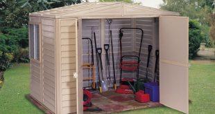 duramax sheds duramax 00184 - 8u0027x5.25u0027 stronglasting duramate vinyl shed u0026 foundation QZJBXKP