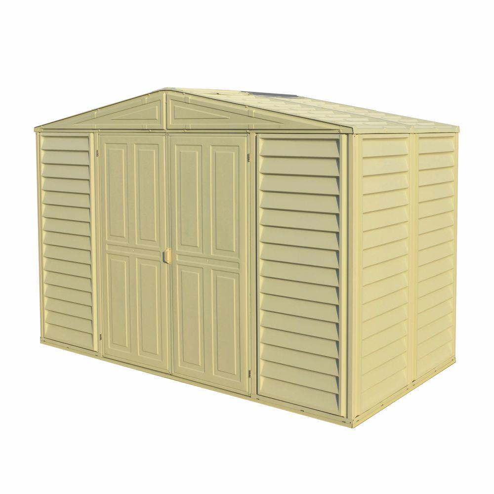 duramax sheds duramax building products woodbridge 10.5 ft.