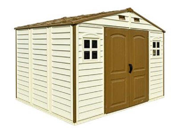 duramax sheds duramax woodside 10x8 plastic shed ZCWTETU