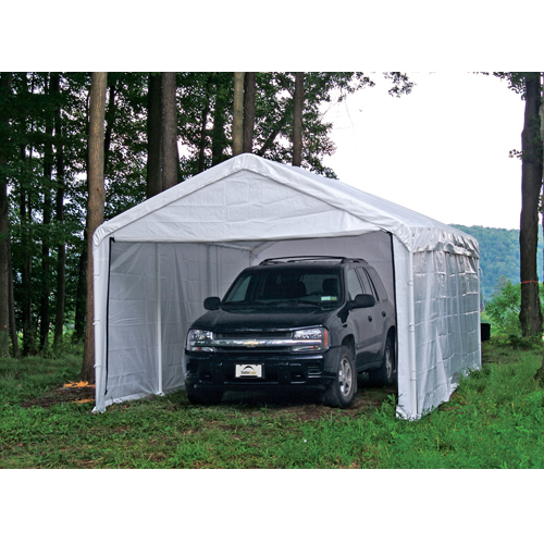 enclosed carport canopy KLNAPGW