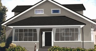 exterior house colours bungalow home - suggested colour scheme 1 PCTUVCA
