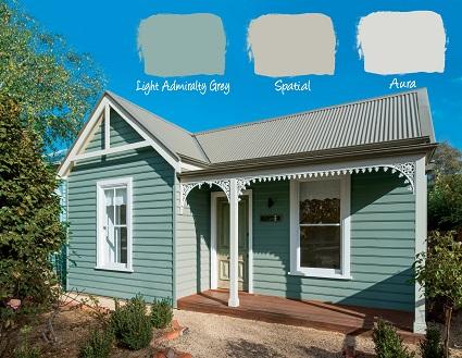 exterior house colours country comforts, habitat living QORIRLM