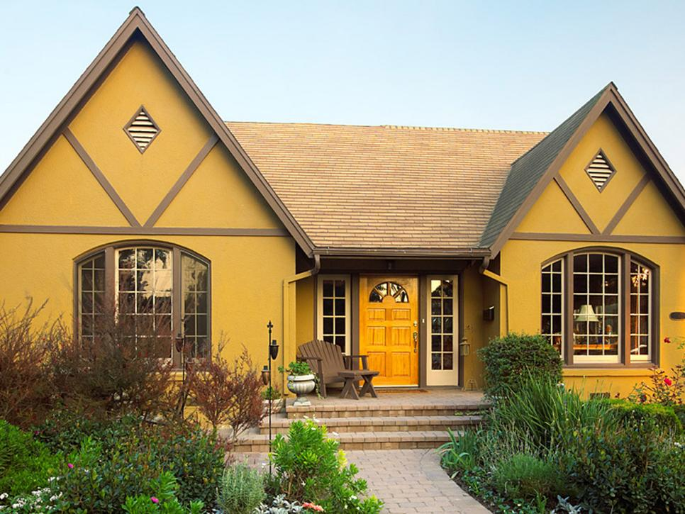 exterior house painting 28 inviting home exterior color ideas | hgtv JRSEONY