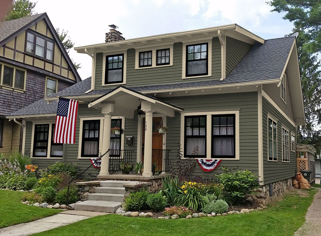 exterior paint colors - consulting for old houses - sample colors LNLSHLJ