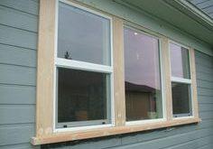 exterior window trim mural of outside window trim: classic finishing idea for perfect home plan BXSARUZ