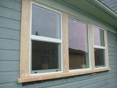 How to Change the Exterior Window Trim