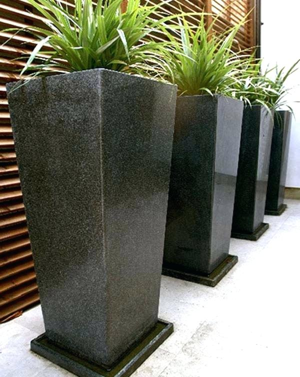 extra large garden pots granite planter tray 2 extra large planter pots NVOREKX