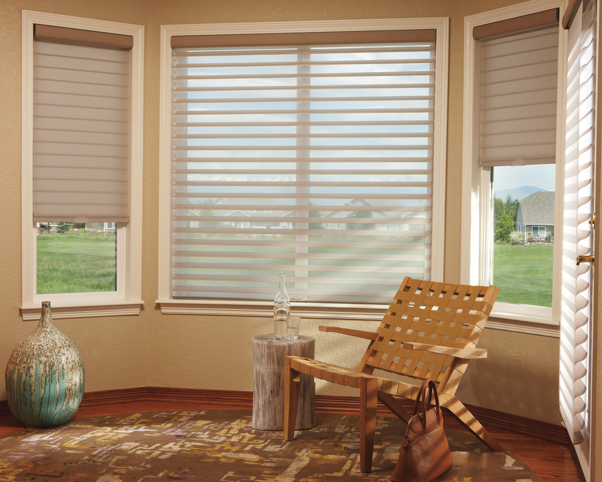 fabric shades silhouette® window shadings with literise® IKZRTKR