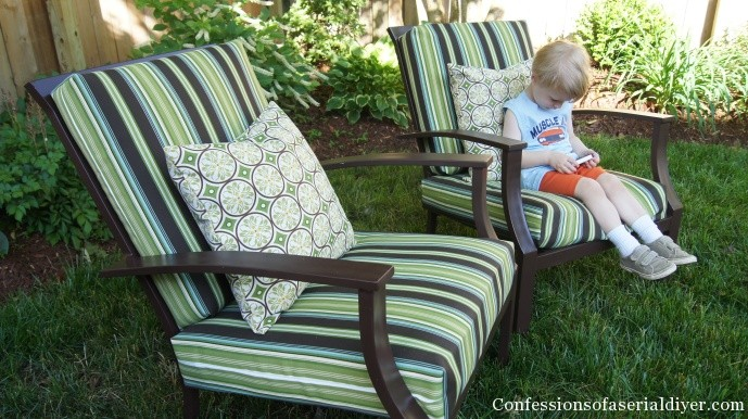 fabulous outdoor patio cushions how to sew outdoor cushions the easy way! FSHZMMX
