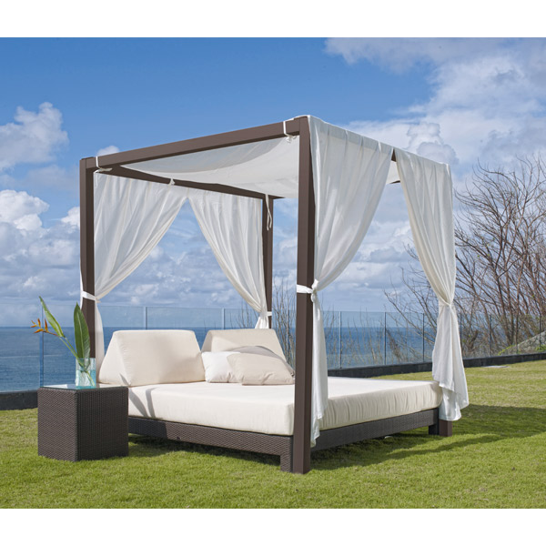 fancy outdoor daybed with canopy with skyline design anibal outdoor daybed CSGPUZR