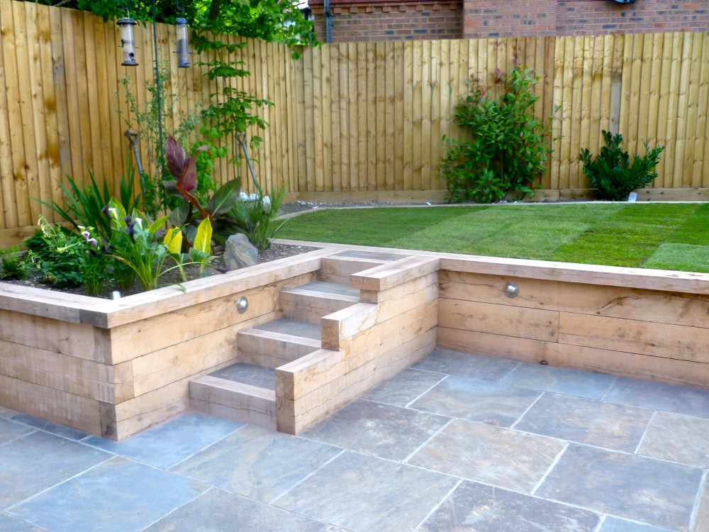 fantastic garden retaining wall | catalunyateam home ideas : garden  retaining APGEESK