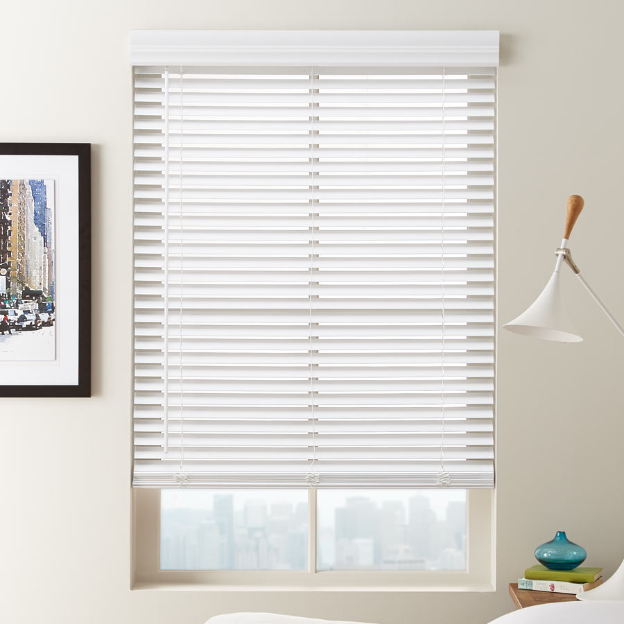 faux blinds new eteck by norman-fauxwood norman eteck budget 2 inch faux wood blinds RIHUJTM