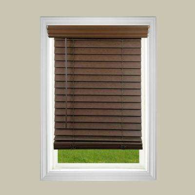 faux wood blinds 2 in. cordless faux wood blind BBFAAMB