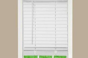 faux wood blinds white 2 in. cordless faux wood blind VQZCSUP