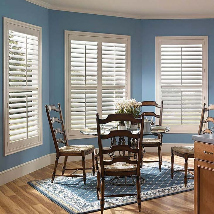 fauxwood plantation shutters RGVDDMH