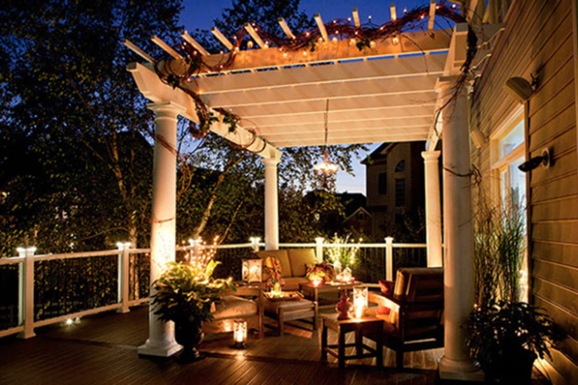five pergola lighting ideas to illuminate your outdoor space MPKMGTR