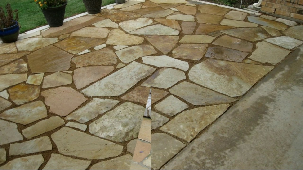 flagstone patio ideas AWBUIYB