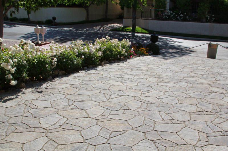 flagstone pavers flagstone-driveway-pavers FNZWUDV