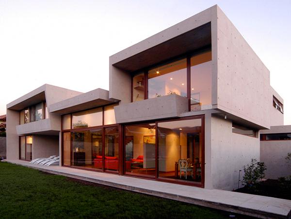 fleischmann ossa house 1 concrete home architecture decorated with ...  sunlight WOXRAKO