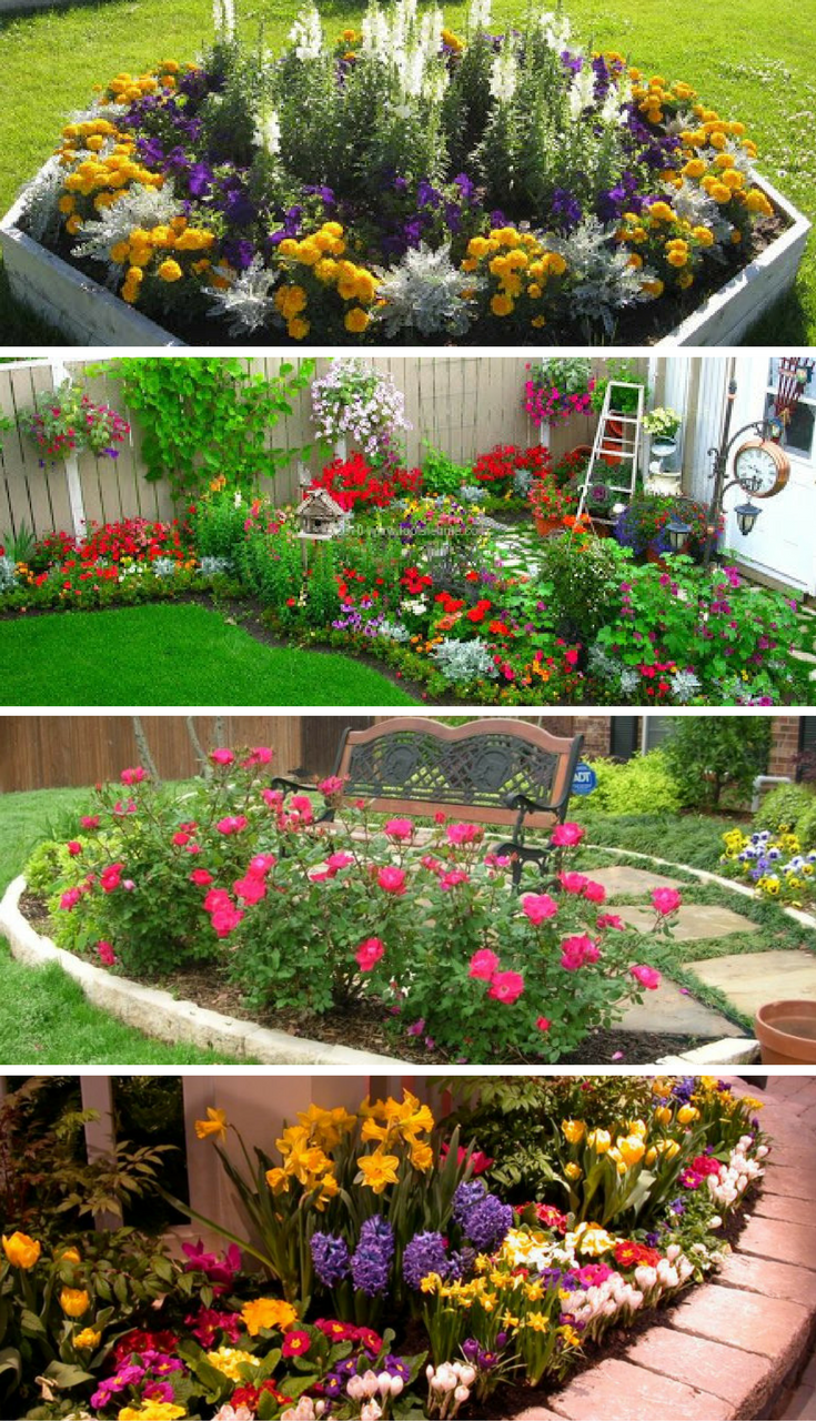 flower garden designs 16 small flower gardens that will beautify your outdoor space UWYZLRA