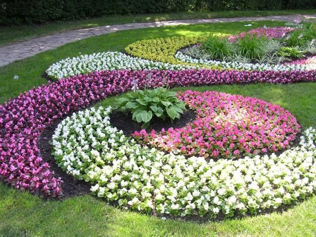 flower garden designs 33 beautiful flower beds adding bright centerpieces to yard landscaping and garden XNDHULF