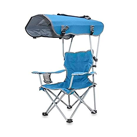 Special features of a folding chair with canopy