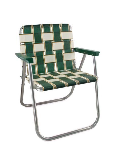 folding lawn chairs lawn chair usa - charleston folding aluminum webbing picnic chair GNNMXAL