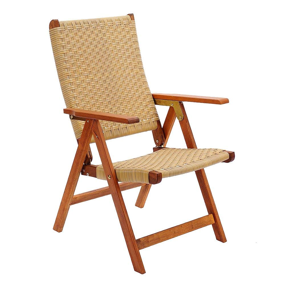 folding outdoor chairs amazon.com : achla designs eucalyptus wood indoor outdoor folding chair  with KYVTXXA