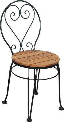 french bistro chairs | wrought iron chairs | kitchen chairs más EOQDJCS