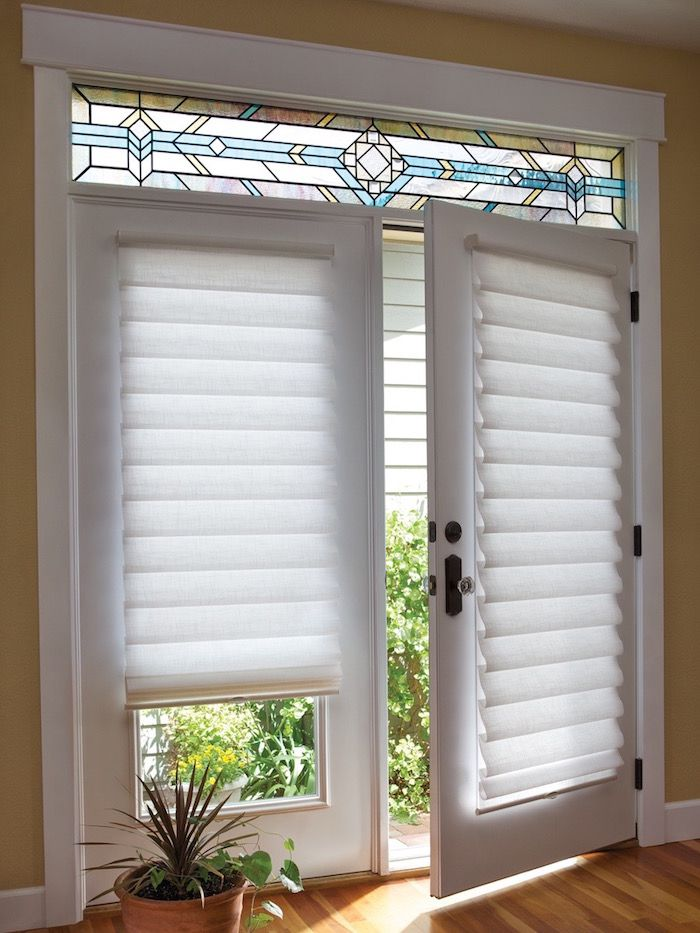 french door blinds attractive blinds for french doors intended roman shade on door with PYEJFSG