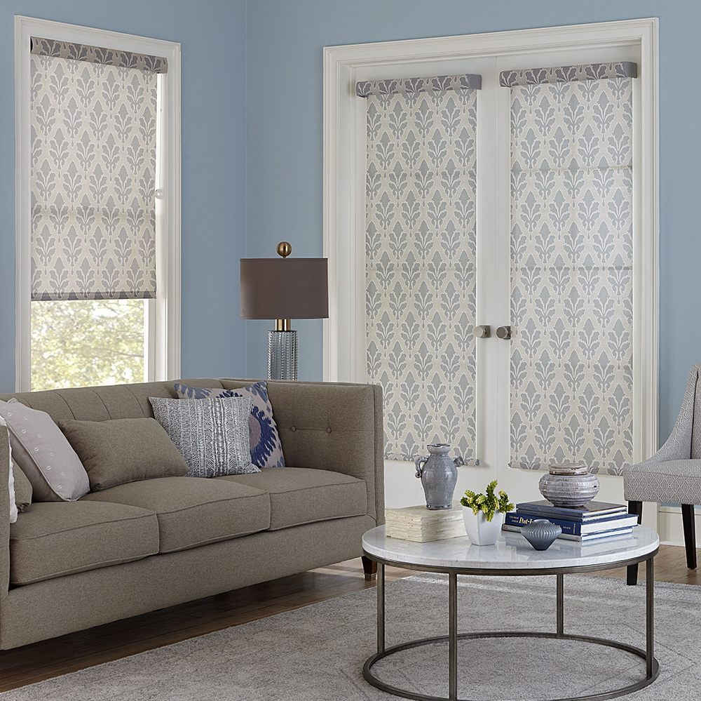 french door blinds shop roller shades for french doors NDIWOOD