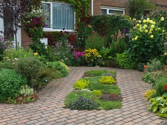 front garden design MGDHFBE