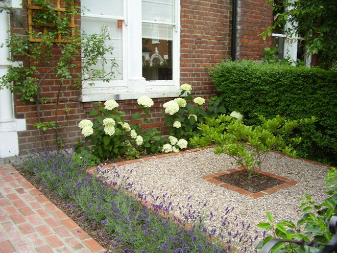 front garden designs this garden is in shade all day so they created a woodland-inspired LESCBHN
