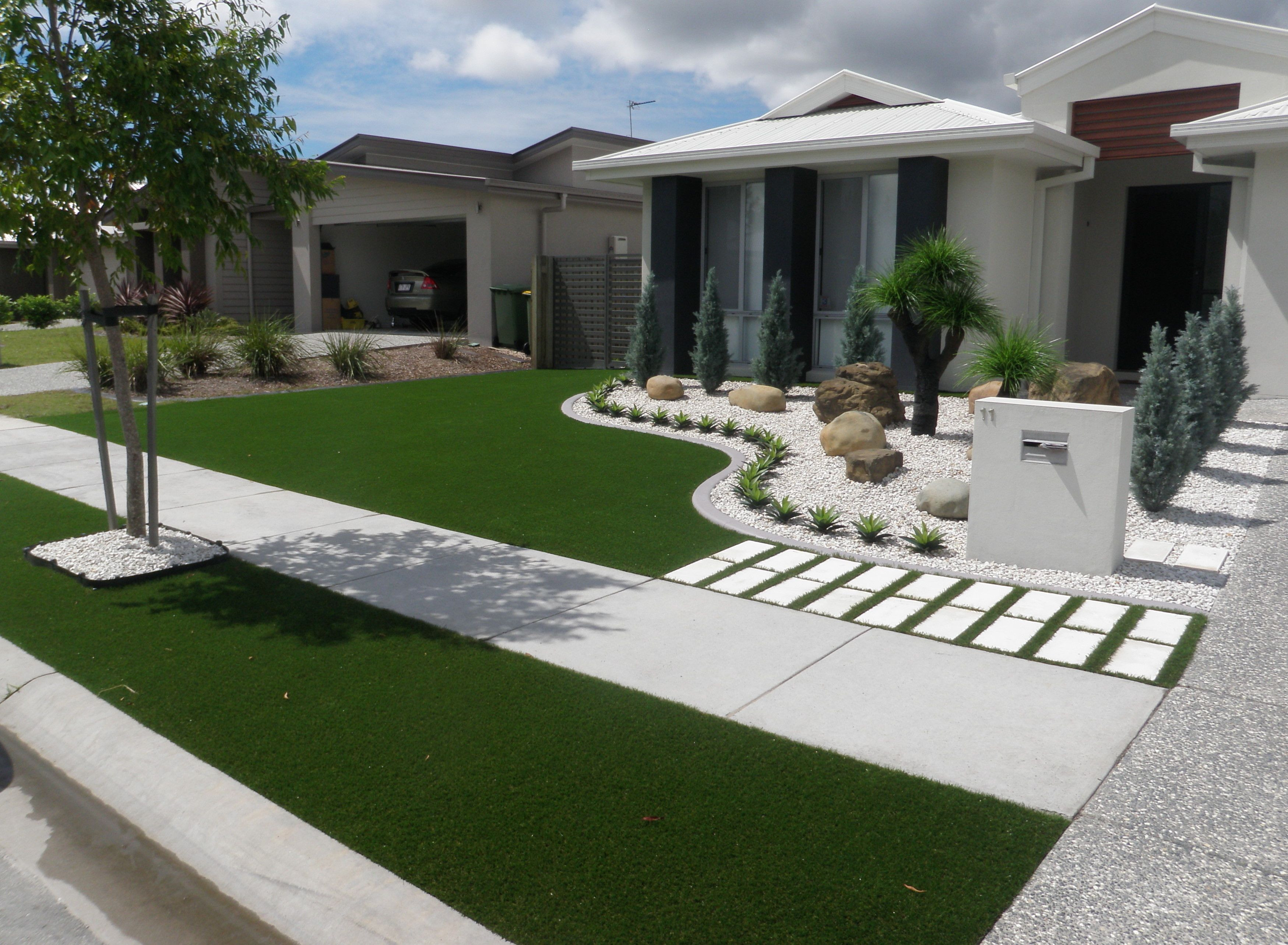 front lawn design ideas synthetic grass front yard designs landscape yards RUGFGDT