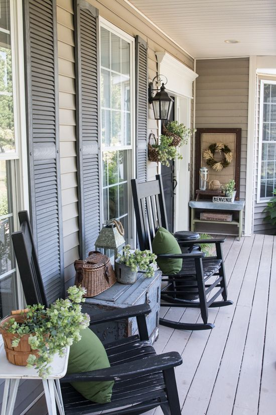 front porch decor back porch ideas - if you have a back porch, you probably GKFFMIU