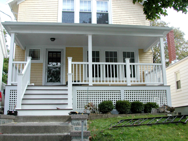 AN OVERVIEW OF FRONT PORCH DESIGNS
