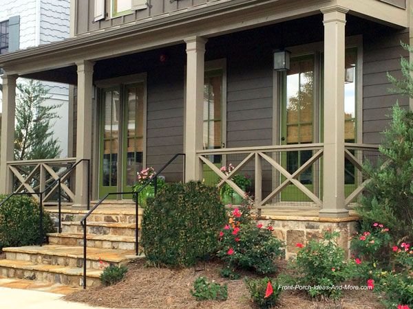 front porch railing ideas, materials and more | exterior railing | ROBRVZB